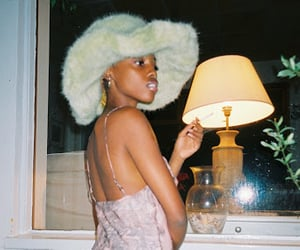 model, melanin, and zaina miuccia image