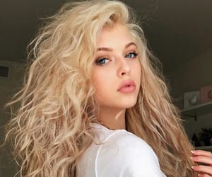 aesthetic, beauty, and blonde hair image