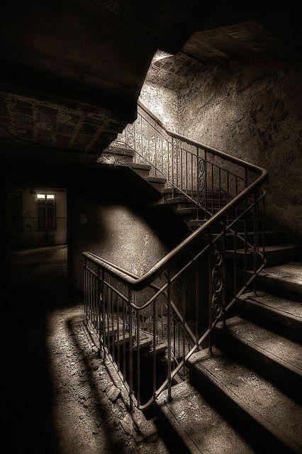 abandoned, dark, and explore image