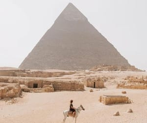 desert, egypt, and people image