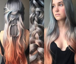 alt girl, colored hair, and dyed hair image
