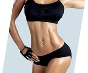 diet, exercise, and gym image