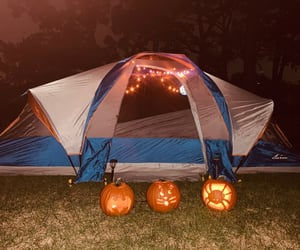fall, Halloween, and jackolantern image