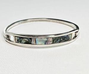bracelet, clamper bracelet, and 21vintagestreet image