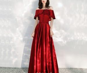 evening dress, long dress, and formal dresses image