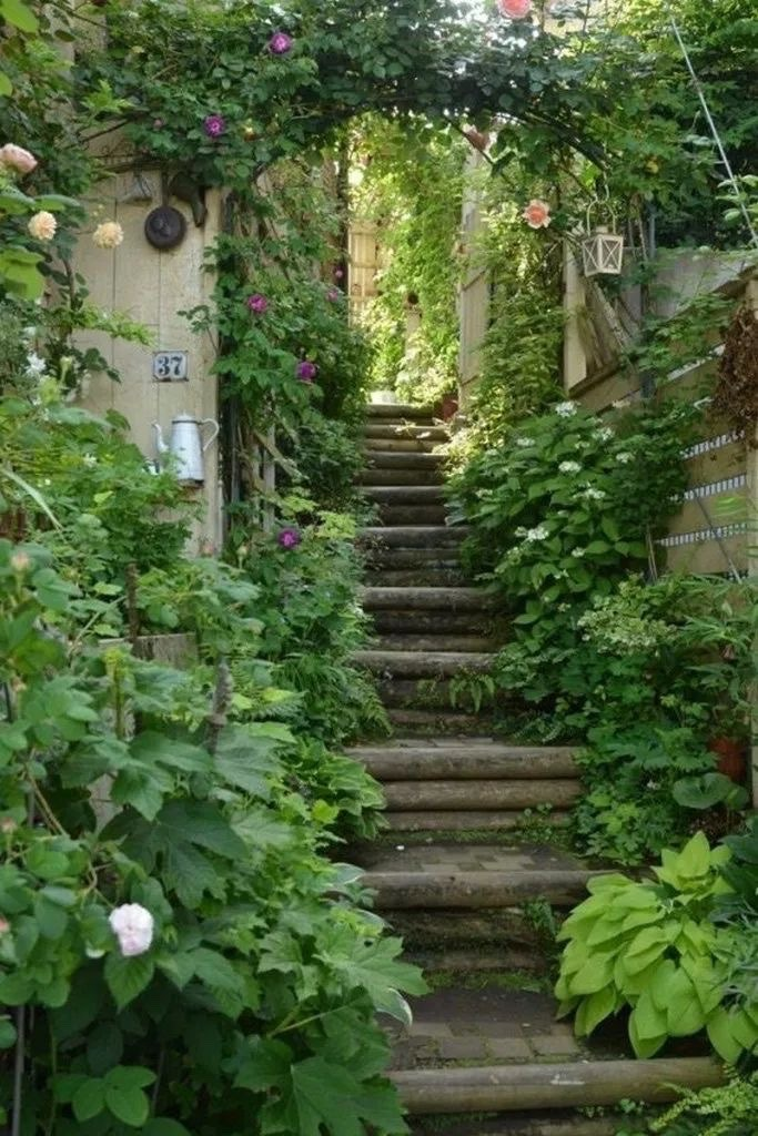 aesthetics, cottage, and garden image