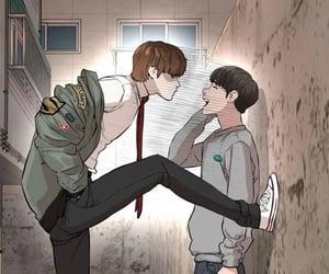 manhwa, how to fight, and seong taehoon image