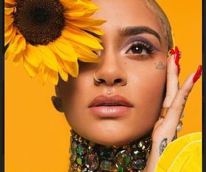 sunflower, tattoo, and kehlani image