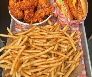 food, nourriture, and chiken image