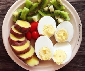 eggs, healthy, and vegetables image