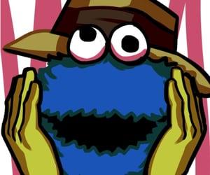 anime, cookie monster, and jojo's bizarre adventure image