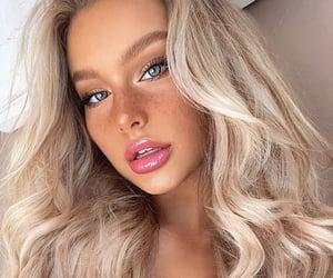 beauty, blueeyes, and girl image