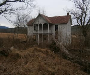 house, abandoned, and nature image