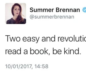 books, be kind, and read image