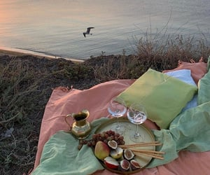 food, picnic, and travel image