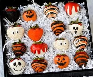 chocolate, Halloween, and recipe image