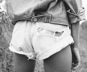 denim, shorts, and jacket image