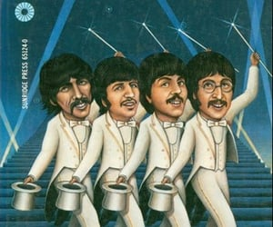 music, the beatles, and paperback writer image