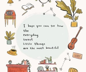 quotes, autumn, and pattern image