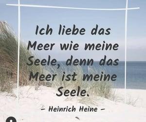 deutsch, meer, and zitat image