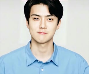 kpop, exo, and sehun image