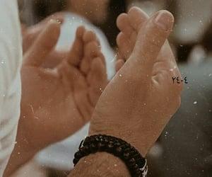 hands, hijab, and kaaba image
