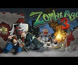 video, kids game, and zombie fight image