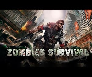 video, zombie game, and game play image