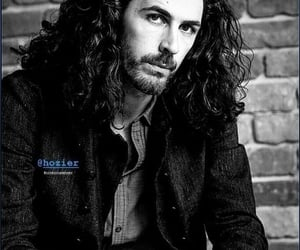black and white, hozier, and andrew hozier byrne image