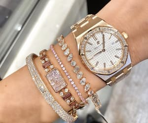diamond, gold, and jewelry image
