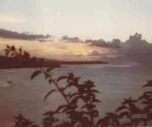 nature, retro, and sea image