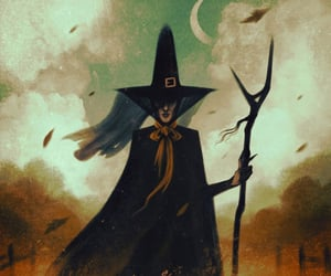 magic, witch, and art image