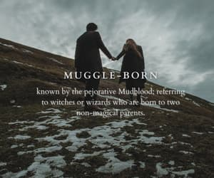 harry potter, hogwarts, and mudblood image