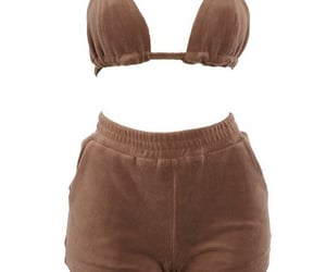 bra, brown, and fashion image