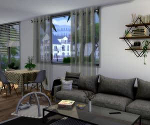 cozy, house decor, and modern apartment image