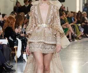 elie saab, haute couture, and mode image