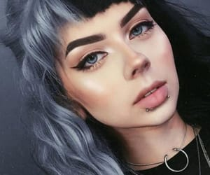 hair, beautiful, and colored hair image