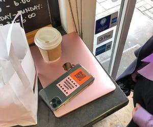 bae, coffe, and mac book image