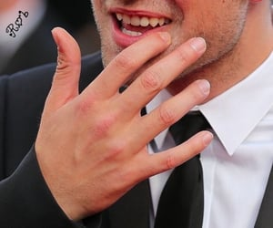 actor, hand, and lips image