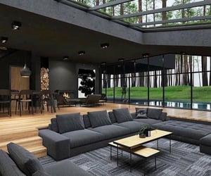 interior design, open space, and dream home image