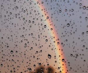arcoiris, lluvia, and rain image