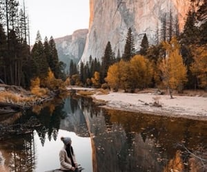 adventure, leaves, and autumn image