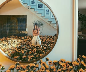 sunflower, flowers, and kylie jenner image