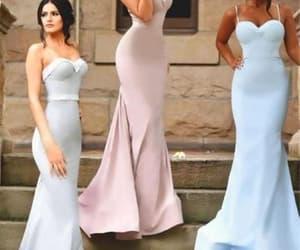 pink bridesmaid dresses, wedding guest dresses, and cheap bridesmaid dresses image