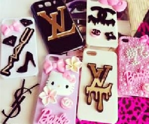 chanel, louisvuitton, and cellaccessories image