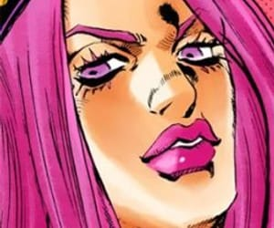 narciso anasui, stone ocean, and jojo's bizarre adventure image