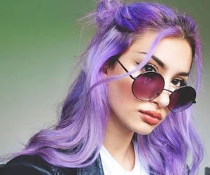colored hair, dyed hair, and colorful hair image