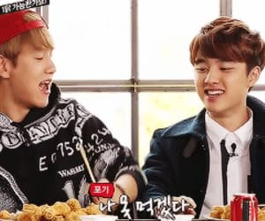 boys, Chen, and lay image