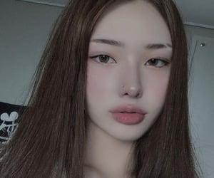 korean, ulzzang, and koreangirl image