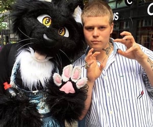 drain, furry, and yung lean image